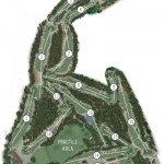 Pinehurst 2 Mapa del campo