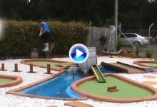 Allen Cox tardó dos años y medio en recopilar estos 100 Trick Shots de Mini Golf (VÍDEO)
