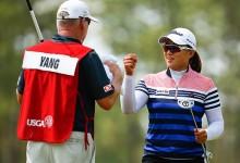 Amy Yang tras los pasos de Payne Stewart. Co-lidera el US Open junto a Michelle Wie