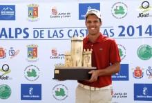 El navarro Borja Virto conquista su primera victoria profesional en el Alps de las Castillas