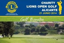 I Trofeo Benéfico Lions Alicante en Bonalba Golf: Grandes premios y un gran sorteo de regalos