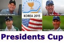 Jay Haas y Nick Price será los próximos capitanes de la Presidents Cup