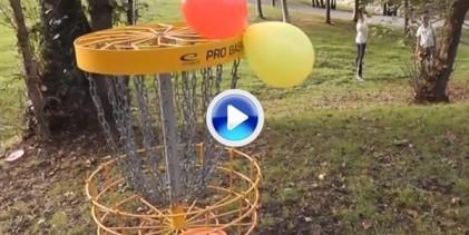 Así se las gasta el campeón de España Sub 19 de Disc Golf (VÍDEO)