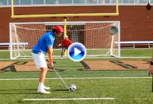 Fútbol y Golf se combinan en estos divertidos Trick Shots firmados por los Bryan Bros. (VÍDEO)