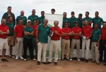 Los greenkeepers españoles se impusieron a los portugueses en su encuentro anual