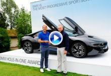 El inglés James Heath se lleva puesto un deportivo valorado en 160.000€ por su hoyo en uno (VÍDEO)