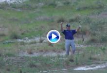 Kenny Perry es el protagonista del, posiblemente, mejor golpe del US Open 2014 (VÍDEO)