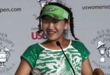 Lucy Li, una niña de 11 años, fue la gran protagonista en el martes del US Open Femenino