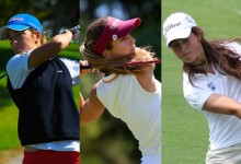 Luna Sobrón, Nuria Iturrios y Noemí Jiménez acceden al cuadro de juego del British Amateur