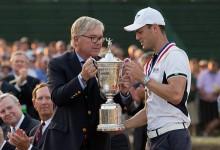 El alemán Martin Kaymer tocó la gloria por segunda vez. Campeón del US Open 2014