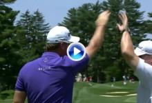 Primer Hoyo en Uno de Peter Hanson en el PGA Tour. Utilizó un hierro 4 desde 201 metros (VÍDEO)