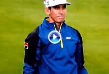 Este fue el golpe al agua de Rafa Cabrera-Bello que lo eliminaba del Play Off en Alemania (VÍDEO)