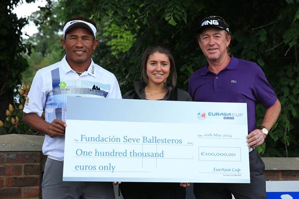 Jaidee, Carmen Ballesteros y Jiménez. Foto: Getty Images