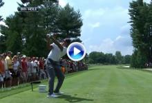 Este es el swing de Tiger Woods a cámara lenta en su reaparición (VÍDEO)