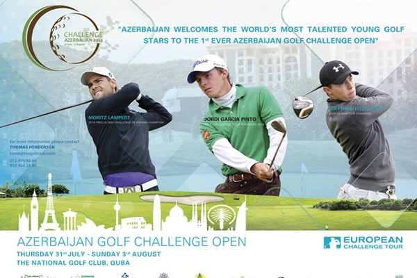 Azerbaijan Golf Challenge Cartel