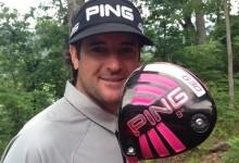 Bubba Watson ya dispone de su nuevo cañón rosa: El nuevo driver G30 de PING