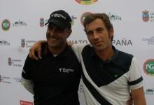 Carlos Balmaseda y Gabriel Cañizares comparten el liderato tras la primera jornada en Santa Marina