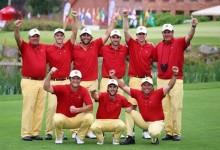 España con Galiano, Fernández, Berna, Cuartero, Anglés y Rahm, campeona de Europa once años después