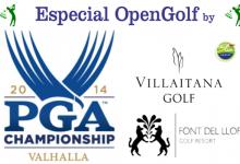 Villaitana y Font del Llop te acercan al PGA Championship, cuarto y último Grande del año