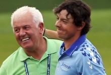 La fe ciega de un padre: Gerry McIlroy apostó hace 10 años que su hijo ganaría el Open antes de los 26