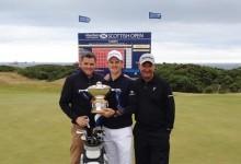 Rose gana a ambos lados del Atlántico. Ahora en el Scottish Open con Larrazábal rozando el Top 10