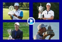 Matsuyama, Kaymer, Streelman y Rose son los nominados por el PGA  Tour a mejor jugador de junio (VÍDEO)