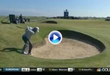 La debacle de Rory McIlroy en la 2ª jornada del Open de Escocia reflejada en menos de 2′ (VÍDEO)