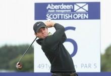 McIlroy muestra sus galones en Escocia batiendo el record del campo. Mickelson en el Top 10