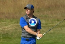 Lo mejor de la 1ª jornada en The Open resumido en dos minutos, McIlroy, Tiger, Scott… (VÍDEO)