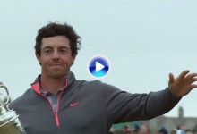 Este es el justo homenaje del Open al Campeón Golfista del Año: Rory McIlroy (VÍDEO)