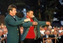 Tiger en el punto de mira de Nick Faldo: «No sería justo que fuese elegido por Watson para la Ryder»