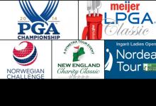 Siga AQUÍ y en DIRECTO todos los resultados del US PGA, LPGA, Challenge, LET Access y Symetra Tour