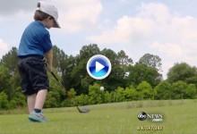 James Grimes, otro niño prodigio del golf con tan solo tres años (VÍDEO)
