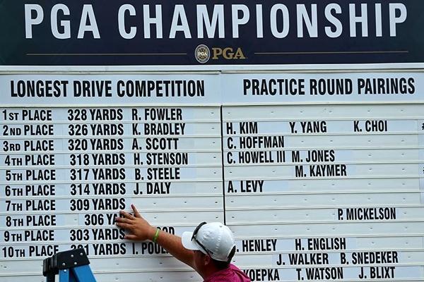 Long Drivers PGA Championship Foto @PGATOUR