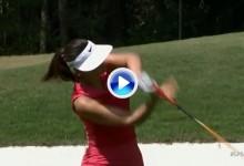 Las grandes también cometen errores de amateur. Estos son 5 de los peores golpes de Michelle Wie (VÍDEO)