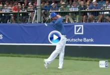 Rory McIlroy se quedó muy cerca del «ace». Vea el swing de ese golpazo a cámara super lenta (VÍDEO)