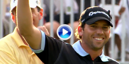 Estos son los 10 mejores golpes en la historia de los PlayOffs de la FedEx Cup. Tiger, Lefty, …  (VÍDEO)