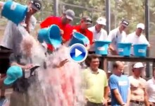 El equipo USA de la Ryder Cup, los últimos en aceptar el Ice Bucket Challenge (VÍDEO)