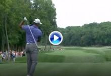 Tiger se desespera: Dos ganchos consecutivos demuestran que no está en su mejor momento (VÍDEO)