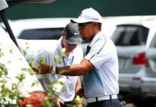 Tiger Woods hace acto de presencia en Valhalla y confirma que jugará el US PGA