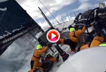 Golpes, contusiones y accidentes son habituales en las naves de la VOR (VÍDEO)