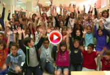 Diego Fructuoso explica en las aulas qué es la vuelta al mundo a vela (VÍDEO)