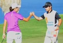 Carlota Ciganda toma posiciones en el Open de España. Es quinta a tres de Trish Johnson