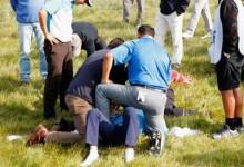 El KLM Open tuvo que ser suspendido tras alcanzar una bola a Fabrizio Zanotti en la cabeza