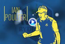 """Ian Poulter es el auténtico """"killer"""" de la Ryder Cup, nunca perdió un partido individual (VÍDEO)"""