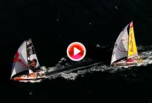 Así se toman, desde cielo y mar, las impresionantes imágenes de la VOR (VÍDEO)