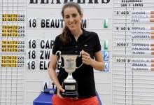 María Beautell, campeona de España al imponerse a Raquel Carriedo en un emocionante PlayOff