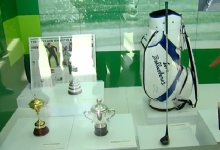 Seve Ballesteros ya ocupa un lugar de honor en el Museo del Deporte de Cantabria (Incluye VÍDEO)