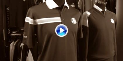 Con estos colores vestirá el equipo europeo en la jornada final de la Ryder Cup (VÍDEO)