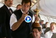 Ballesteros y Olazábal entre los diez mejores jugadores en la historia de la Ryder Cup (VÍDEO)